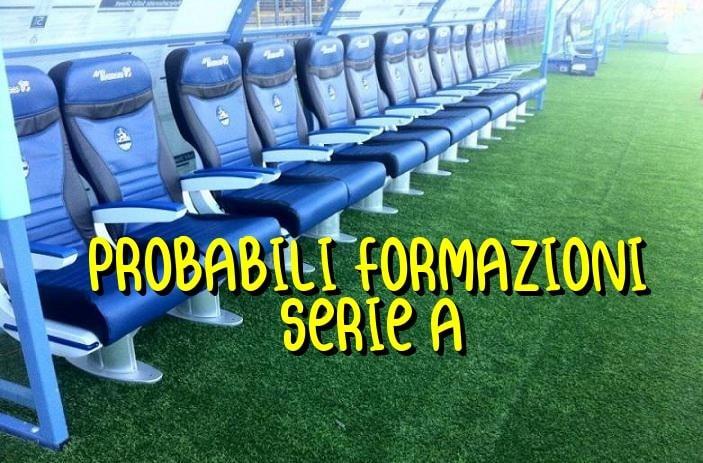 Probabili formazioni Serie A 3° giornata - 2021/2022