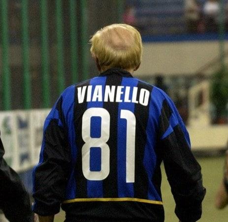 Raimondo Vianello: una storia di vero calcio tratta dal racconto di Gianfranco Giacomo D'Amato
