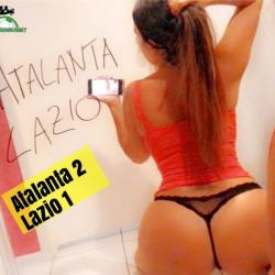 Sexy pronostico Claudia Romani Atalanta Lazio