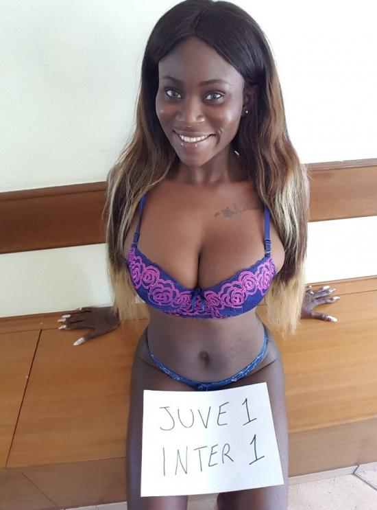 The sexiest world football tipster Silvia Ehigie predicted Juventus-Inter